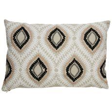 Modern/Contemporary Pattern Linen Cosmic By Nikki Chu Down Fill Pillow