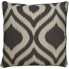 """Modern/Contemporary Pattern Taupe/Gray Linen Down Fill Pillow ( 22""""X22"""")"""