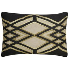 Modern/Contemporary Pattern Linen Cosmic By Nikki Chu Poly Pillow