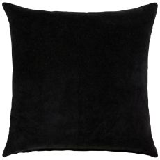 "Modern/Contemporary Pattern Black/White Cotton Down Fill Pillow ( 22""X22"")"
