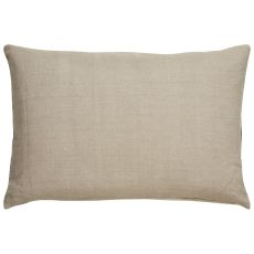 """Modern/Contemporary Pattern Taupe/Gray Linen Down Fill Pillow ( 16""""X24"""")"""