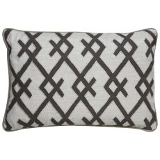 Geometric Pattern Polyester Cosmic By Nikki Chu Down Fill Pillow