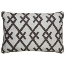 Geometric Pattern Polyester Cosmic By Nikki Chu Poly Pillow