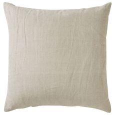 "Modern/Contemporary Pattern Gray/Ivory Linen Down Fill Pillow ( 22""X22"")"