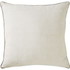 """Modern/Contemporary Pattern Tan Linen Down Fill Pillow ( 22""""X22"""")"""
