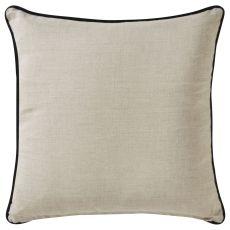 """Modern/Contemporary Pattern Tan Linen Down Fill Pillow ( 18""""X18"""")"""