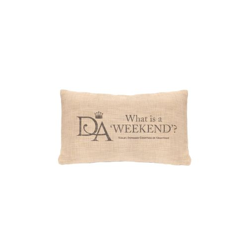 Violet'S Wisdom Weekend Pillow, Natural