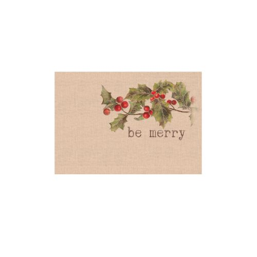 Holly-Be Merry 14X20 Placemat