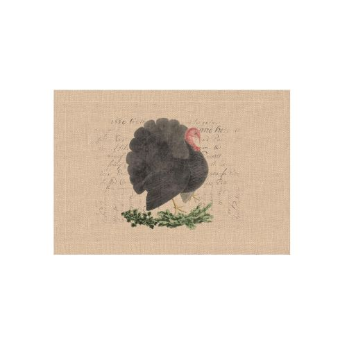 Thanksgiving Turkey 14X20 Placemat