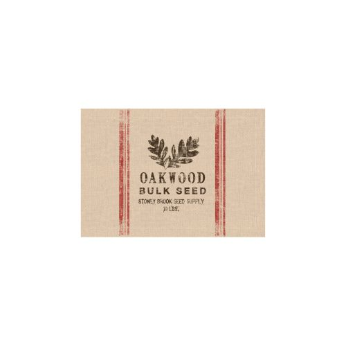 Seed Labels Oakwood Placemat