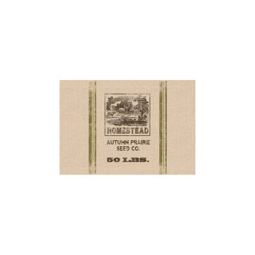 Seed Labels Homestead Placemat