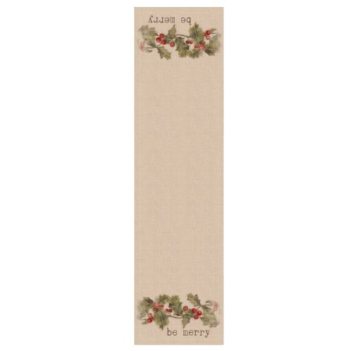 Holly-Be Merry 16X60 Table Runner