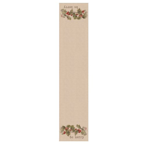 Holly-Be Merry 16X72 Table Runner