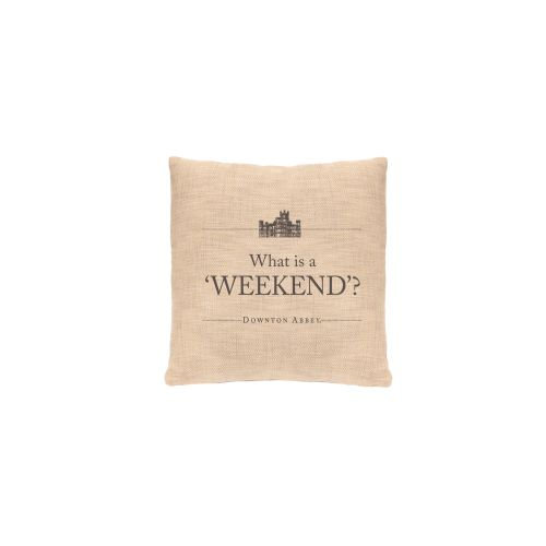 Simply Stated Weekend Pillow, Natural
