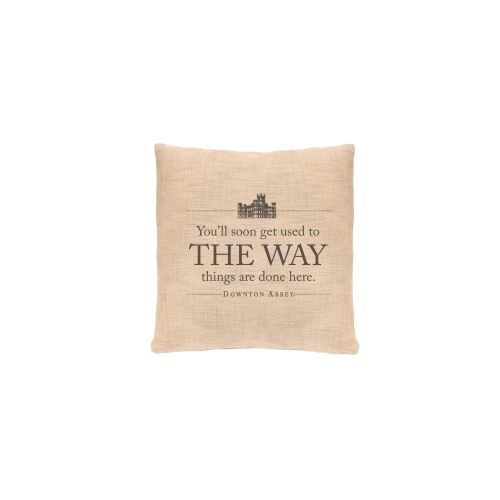 Simply Stated The Way Pillow, Natural