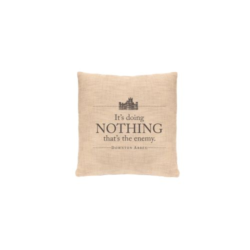 Simply Stated Nothing Pillow, Natural