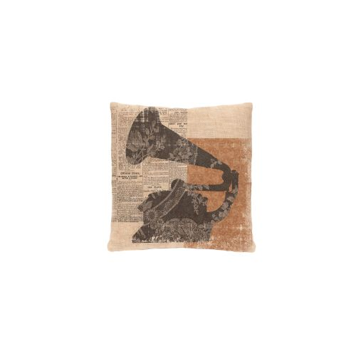 Silhouettes Gramophone Pillow