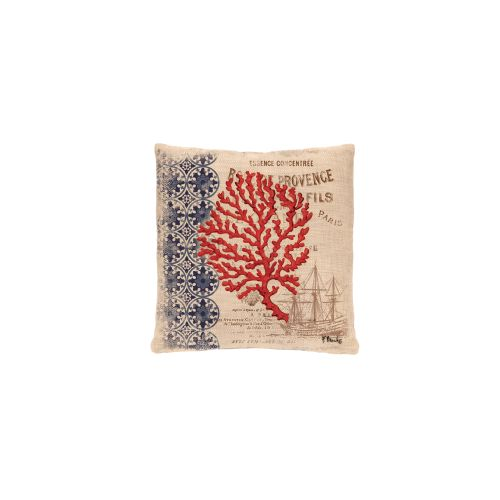 Coral Coast Ship Pillow, Natural
