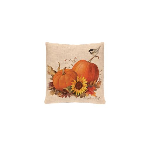 Harvest Pumpkin 18X18 Pillow