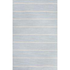 Stripes Pattern Wool Coastal Shores Area Rug