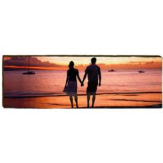 Beach Couple Wall Art