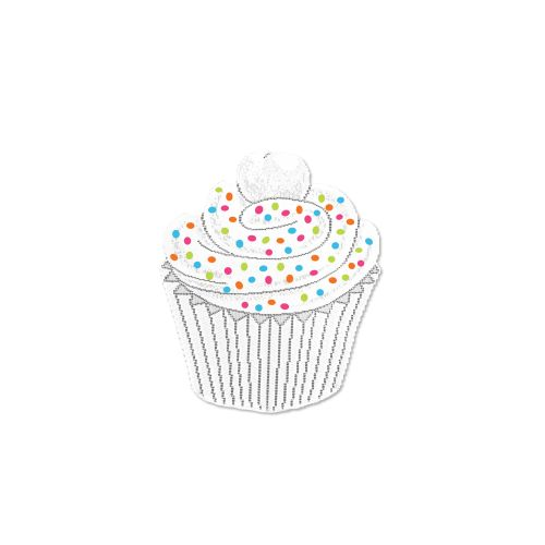 Cupcake Placemat W/ Sprinkles