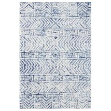 "Liora Manne Cyprus Batik Indoor Rug White/Multi 7'6""X9'6"""