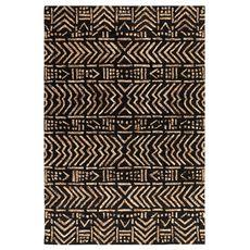 "Liora Manne Cyprus Batik Indoor Rug Brown/Tan 8'3""x11'6"""