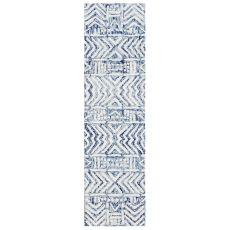 "Liora Manne Cyprus Batik Indoor Rug White/Multi 24""X7'6"""