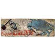 Blue Crab Wood Wall Art