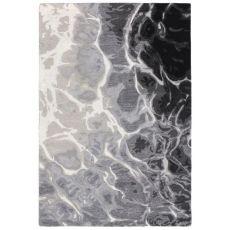 Water Black/White Rug