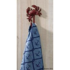 Crab Single Dish Towel Hook