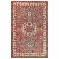 "Liora Manne Carmel Kilim Indoor/Outdoor Rug Red 39""X59"""