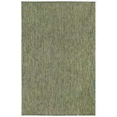 """Liora Manne Carmel Texture Stripe Indoor/Outdoor Rug Green 7'10""""X9'10"""""""