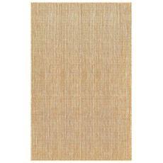 """Liora Manne Carmel Texture Stripe Indoor/Outdoor Rug Sand 39""""X59"""""""