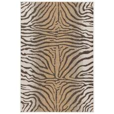 "Liora Manne Carmel Zebra Indoor/Outdoor Rug Sand 4'10""X7'6"""