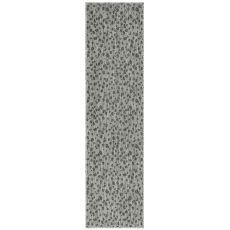 "Liora Manne Carmel Leopard Indoor/Outdoor Rug Grey 23""X7'6"""