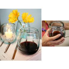 Stemless Wine Glass - Clear Set of 6