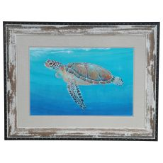 Ocean Sea Turtle 2 Framed Print