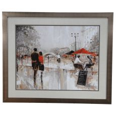 Riverwalk Charm Framed Print