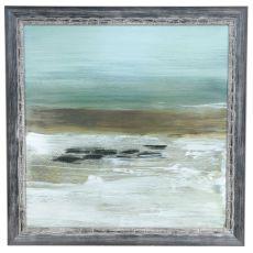 Beach Horizon Framed Print