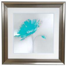 Aqua Petals 1 Framed Print