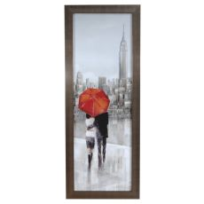 New York Strool Framed Print