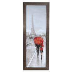Paris Strool Framed Print