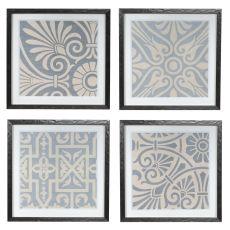 Tonian 1-2-3-4 Framed Print