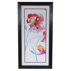 Inked Floral 1 Framed Print