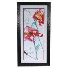 Inked Floral 2 Framed Print