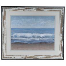 Lingering Gray 1 Framed Print