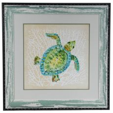 Sealife Turtle Framed Print