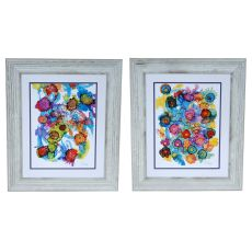 Coastal Spectrum 1&2 Set 2 Framed Print